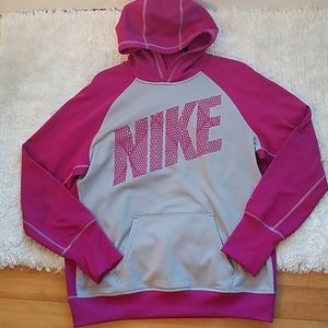 Nike therma fit pink sweatshirt size XL